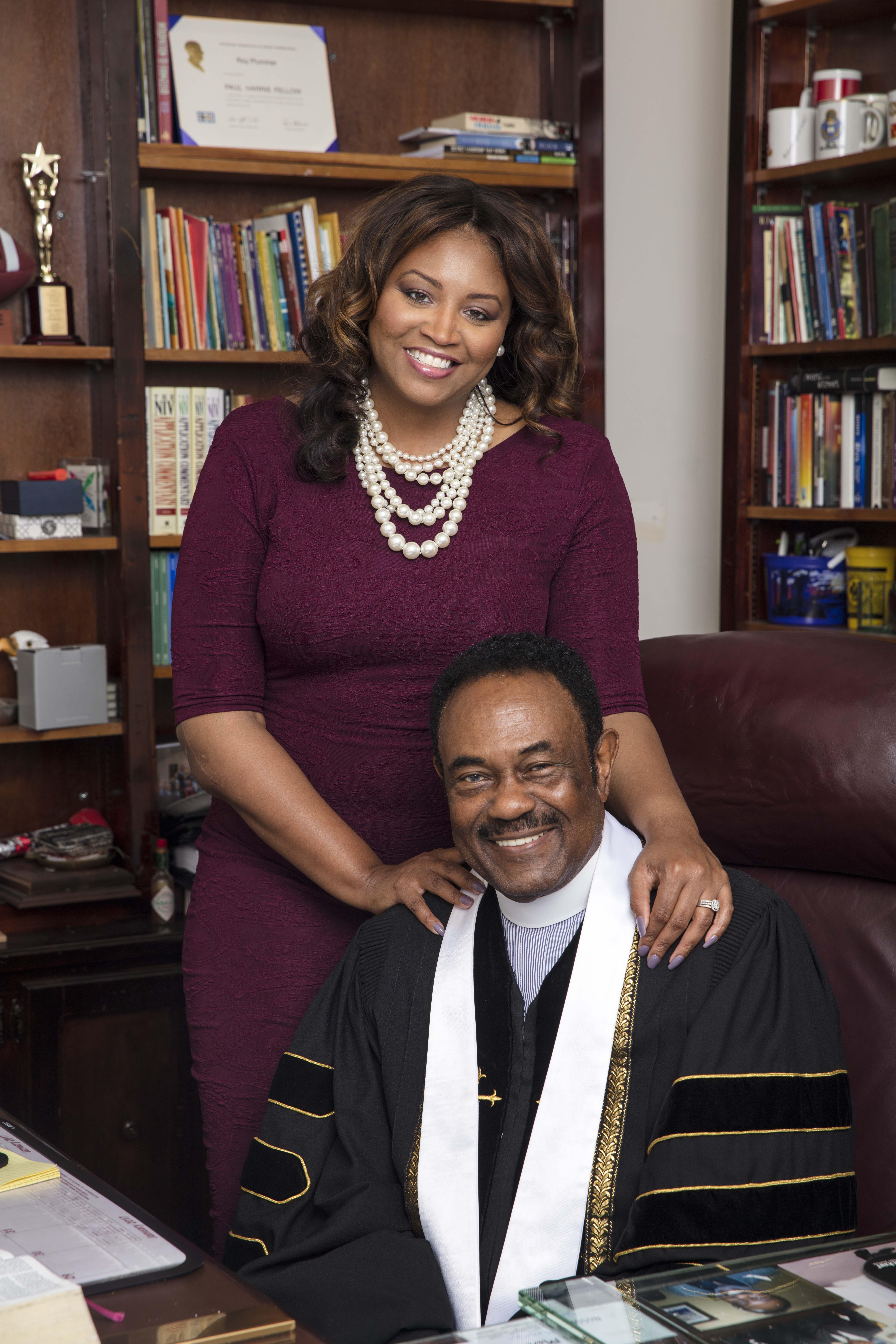 Pastor Plummer and Kenyetta Plummer